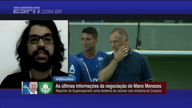Aumento no salário de Mano e auxiliares: jornalista mineiro esclarece detalhes sobre possível renovação com o Cruzeiro