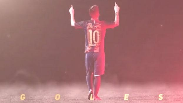 Único: Barcelona homenageia marca de 500 gols de Messi relembrando o primeiro tento do argentino