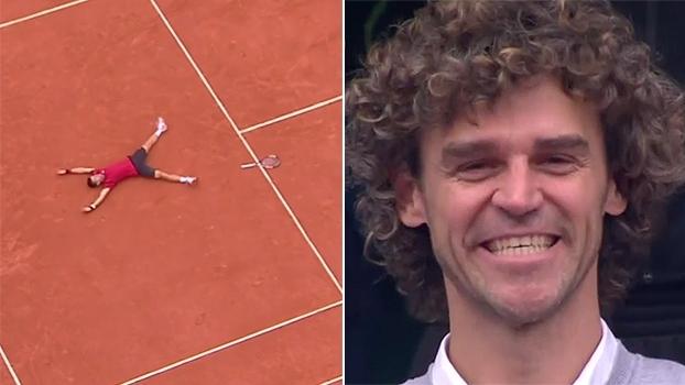 Djokovic homenageia Guga após título inédito de Roland Garros