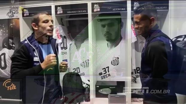 Vecchio, Vanderlei e vitória: José Renato Ambrósio conta como foi Santos x Chapecoense