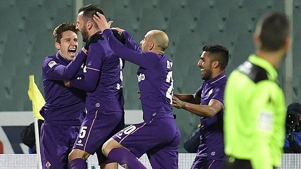 Italiano: Gols de Fiorentina 2 x 1 Juventus