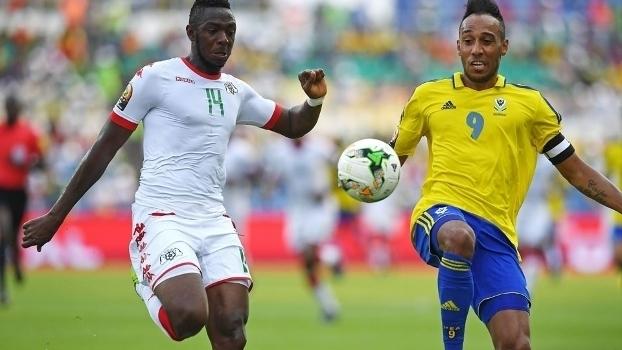 Veja os gols do empate entre Gabão e Burkina Faso por 1 a 1