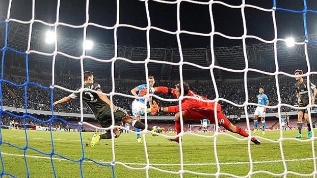 Veja os melhores momentos da vitória do Napoli sobre o Milan por 4 a 2 pelo Italiano