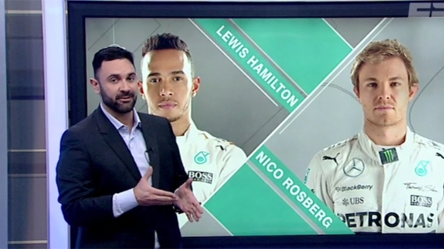 Comentarista analisa punição a Nico Rosberg no GP da Inglaterra