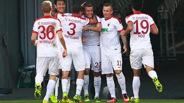 Com gol islandês, Augsburg vence Darmstadt por 1 a 0 no Alemão