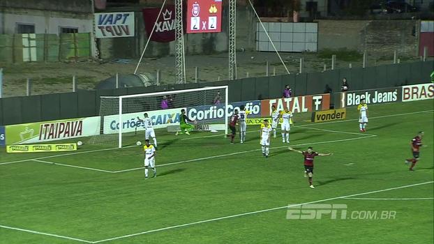 Veja os gols de Brasil de Pelotas 3 x 2 Criciúma