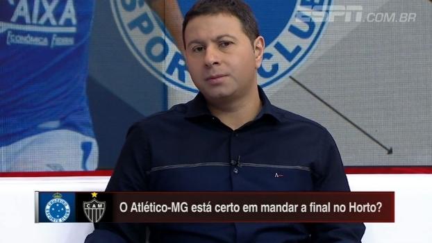 Marra comenta disputa de mando na final do Mineiro e cita Bahia x Vitória como exemplo