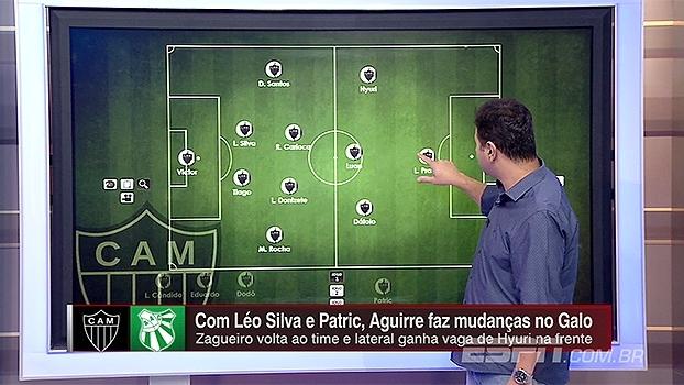 Mário Marra destaca esquema tático e escalações de Atlético-MG e Caldense: 'Galo deve ter jogo duro'