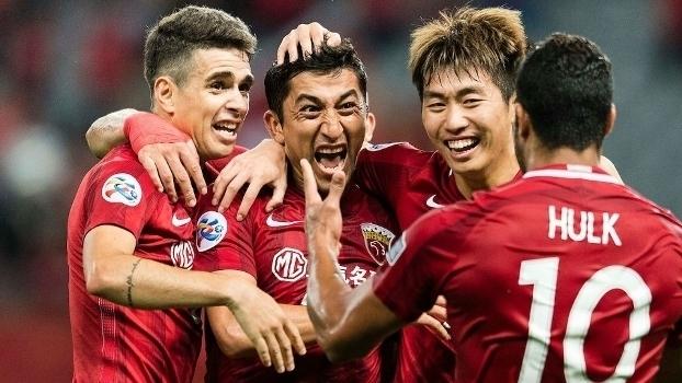 Com gol de Hulk, Shangai bate time de Ramires e Alex Teixeira nas oitavas da Champions Asiática