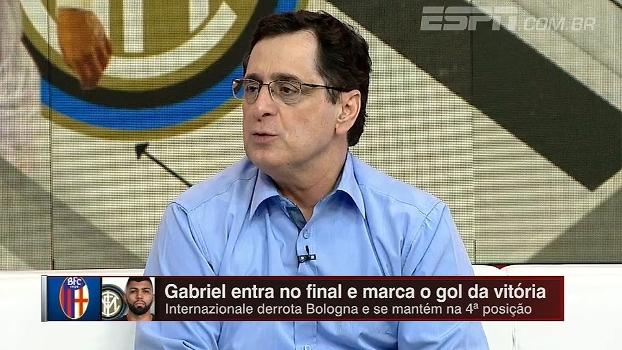 Mesmo após gol marcado, Antero diz que Gabriel continuará sendo opção eventual na Internazionale
