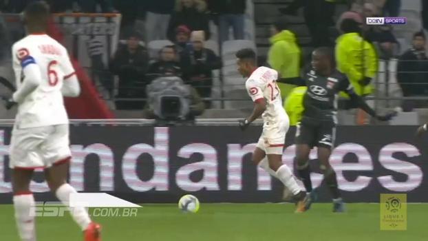 Assista aos melhores momentos da vitória do Lille sobre o Lyon por  2 a 1!