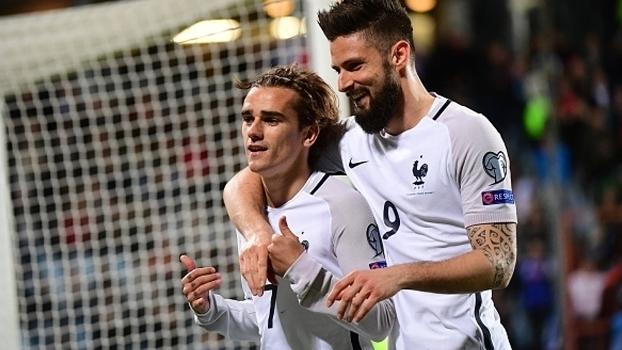 Assista aos gols da vitória da França sobre Luxemburgo por 3 a 1