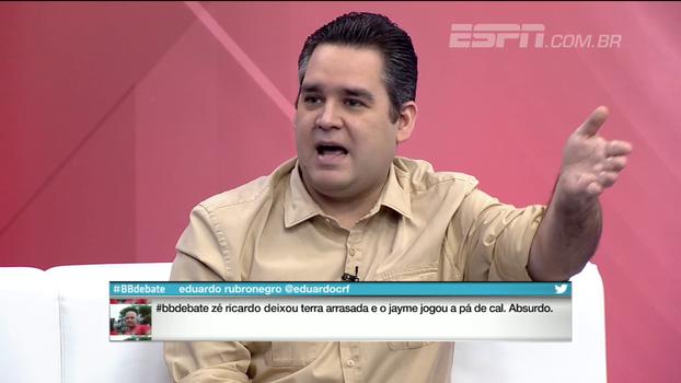 Bertozzi pede tempo para Rueda no Flamengo: 'O cara que está há um ano, parece que está há um século'