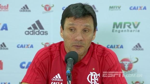 Zé Ricardo diz que avaliação física em meio à 'maratona' irá definir escalação contra o Bahia