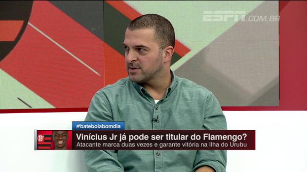 Conhecedor da base, Zé Elias elogia inteligência de Paquetá e diz que Vinícius Jr 'é fora da curva'