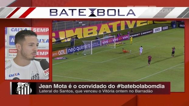 Jean Mota comenta sobre arrancada do Santos e fala sobre saída de Lucas Lima: 'todo grupo feliz por ele'