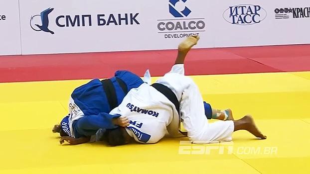 Com wazari, brasileira Mayra Aguiar conquista ouro no Mundial de Judô na Rússia; veja