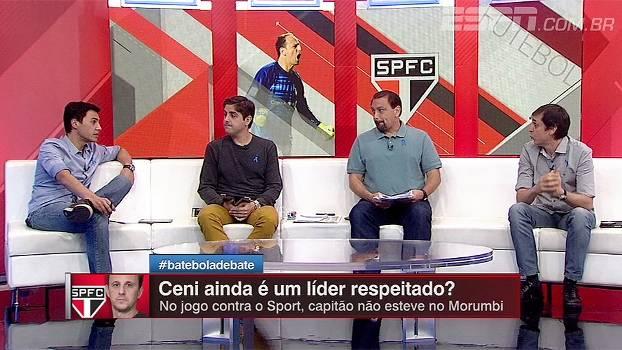 Ganso ou Rodrigo Caio  Bate-Bola debate quem poderá assumir a ... 60589c9e0ad5f