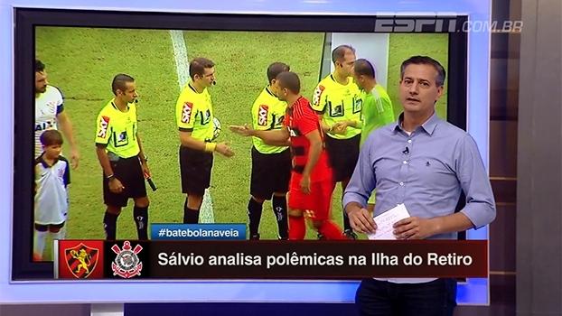 Para Sálvio, arbitragem não interferiu no resultado de Sport x Corinthians