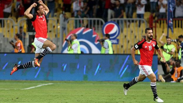 Veja o gol da vitória do Egito sobre Uganda por 1 a 0 pelas Eliminatórias Africanas