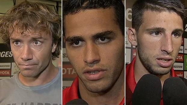 Lugano vê situação 'complicada' no grupo; Kardec e Calleri mostram otimismo