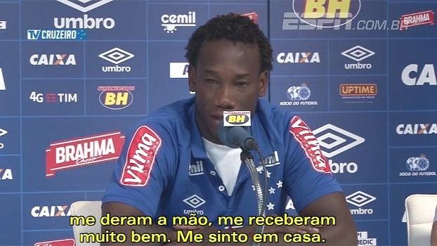 Reforço do Cruzeiro, Caicedo espera ano pesado: 'Importante será estar bem fisicamente'
