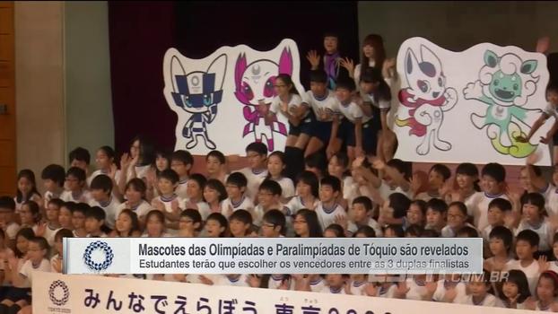 Mascotes das Olimpíadas e Paralimpíadas de Tóquio são revelados; veja