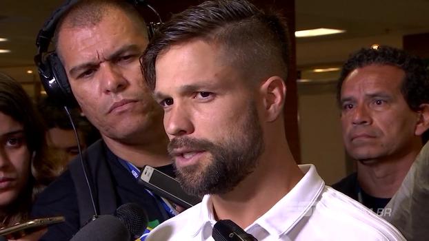 Diego pede humildade no Flamengo, mas exalta: 'Mais uma vez, estamos em uma semifinal'