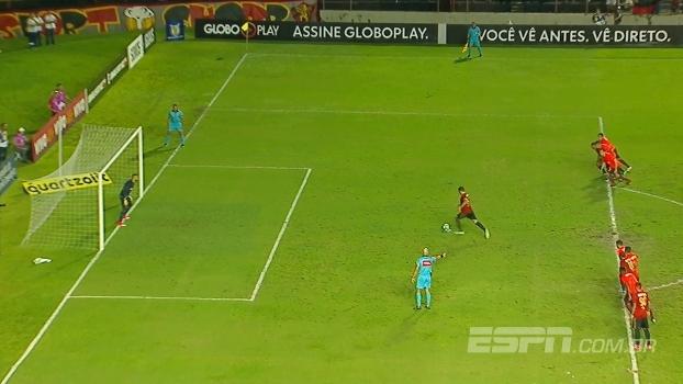Brasilero: Gol de Sport 1 x 0 Atlético-PR