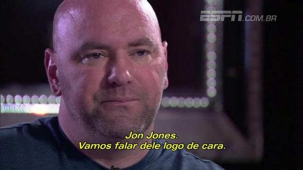 Dana White vê Jon Jones com chances de ser 'o melhor de todos os tempos' e fala sobre relação com astro