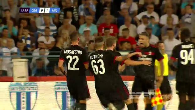 Europa League: Melhores momentos de Craiova 0 x 1 Milan