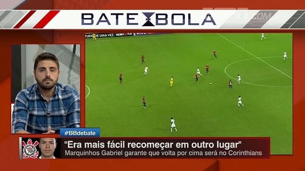 Nicola se diz ansioso para ver sequência de Marquinhos Gabriel; Alê Oliveira: 'Só depende dele'