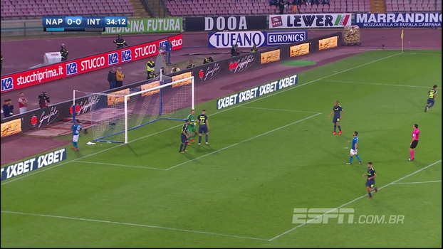 Italiano: Melhores momentos de Napoli 0 x 0 Internazionale