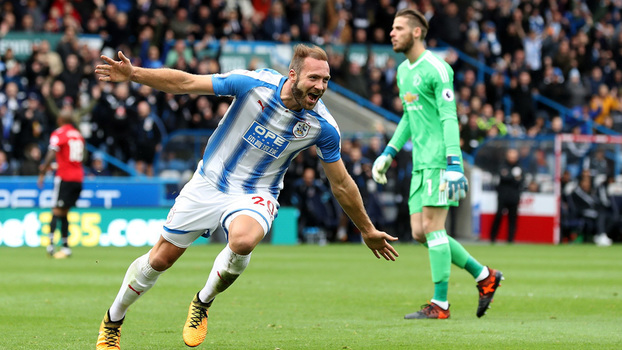 Premier League: Gols de Huddersfield 2 x 1 Manchester United
