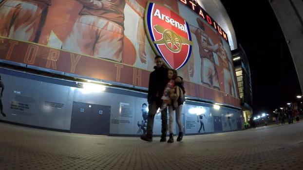 'O melhor jogo mundo': João Castelo-Branco leva filha pela 1ª vez ao estádio e te mostra como foi
