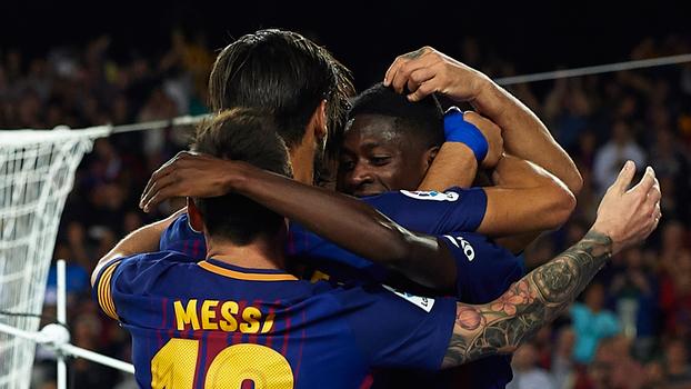 LaLiga: Melhores momentos de Barcelona 5 x 0 Espanyol