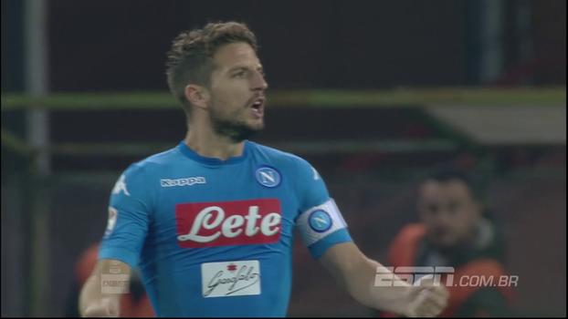 Assista aos melhores momentos de Genoa 2 x 3 Napoli