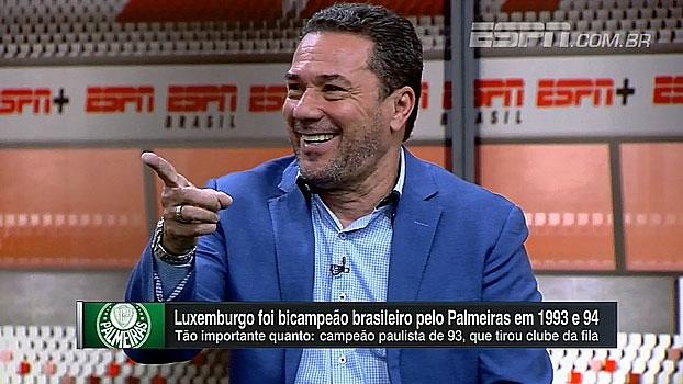 Luxemburgo relembra início de Marcos no Palmeiras e resistência em chamá-lo: 'Era grande e gordo'
