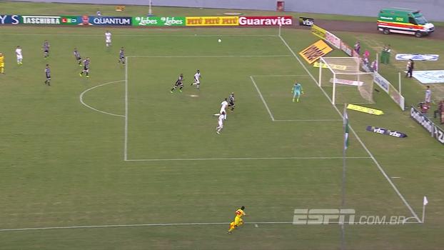 Confira os gols de Londrina 3 x 2 Ceará