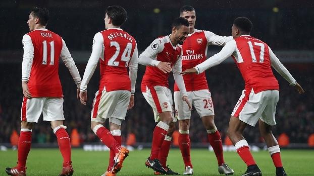Premier League: Melhores momentos de Arsenal 3 x 1 Stoke City