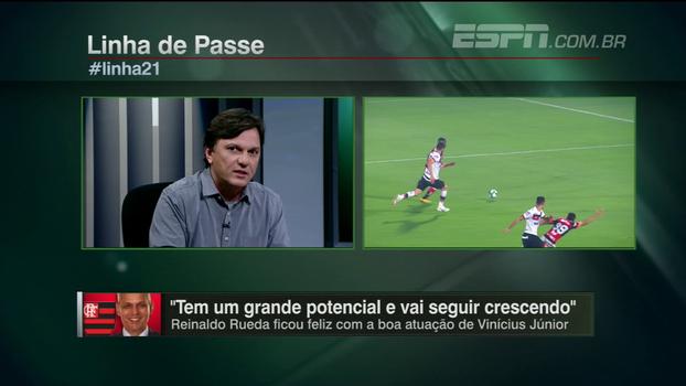 Mauro aprova jogo de Paquetá e Vinícius Jr, critica preços de ingressos e projeta confronto entre Botafogo x Flamengo