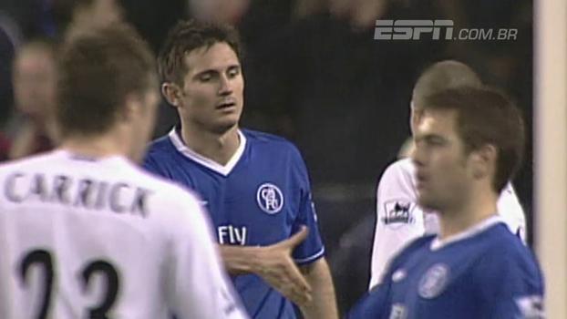 Em 2005, Lampard fez 2 gols, e Chelsea superou o Tottenham em pleno White Hart Lane