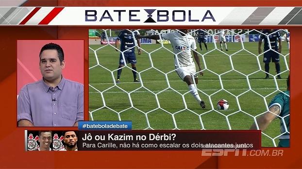 Bertozzi opina sobre possibilidade de Jô e Kazim atuarem juntos no Corinthians