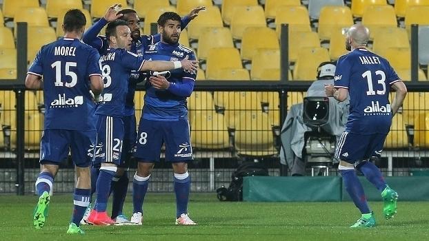 Francês: Gols de Lyon 3 x 0 Metz