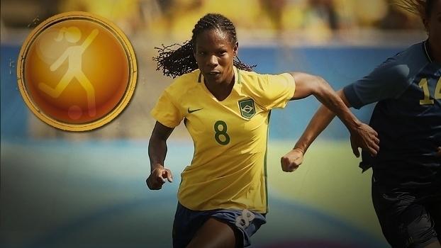 Bola de Prata: Formiga, representando o futebol feminino