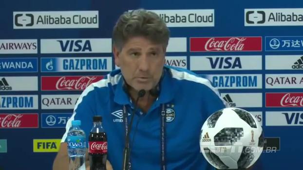 Veja entrevista que Renato Gaúcho novamente diz que jogou mais que Cristiano Ronaldo