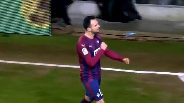 Copa do Rei: Gols de Eibar 3 x 1 Sporting Gijón