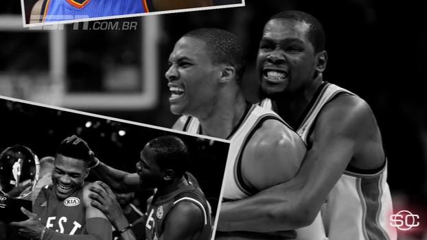 Desde 'divórcio', Durant e Westbrook têm brilhado de diversas maneiras na NBA