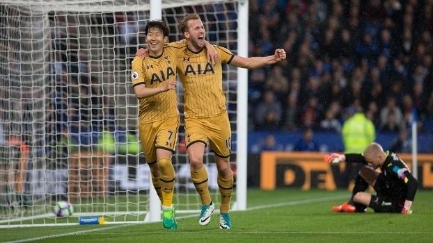 Assista aos gols da vitória do Tottenham sobre o Leicester por 6 a 1