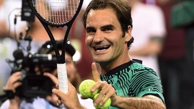 Veja lances da vitória de Roger Federer sobre Stephane Robert por 2 sets a 0
